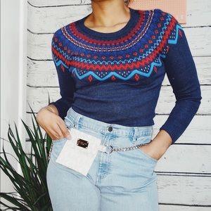 3/$20 size Medium Merona Fair Isle Sweater